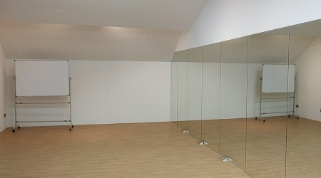 Dance Studio - full height mirror